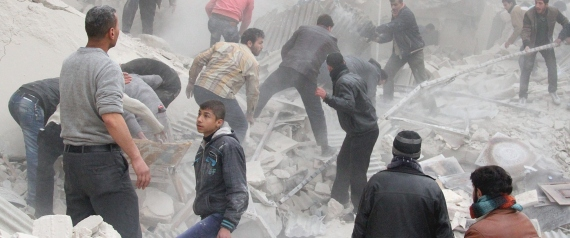 THE DESTRUCTION OF SYRIA