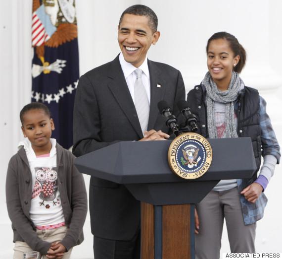 malia sasha obama 2009