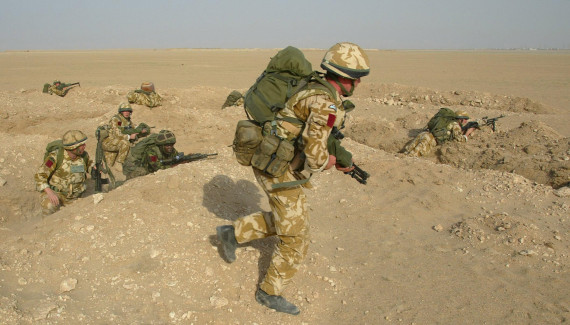 british armed forces soldiers
