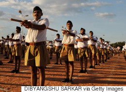RSS Supports Women's Entry To Temples, Changes Uniform From  Khaki Shorts To Brown Trousers