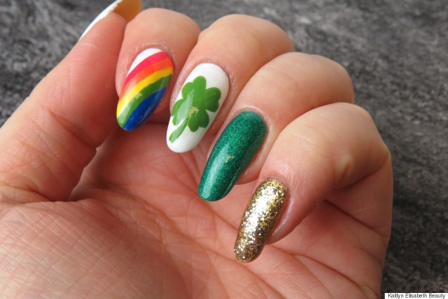 Nail Art: A Fun And Easy St. Patrick39;s Day Design