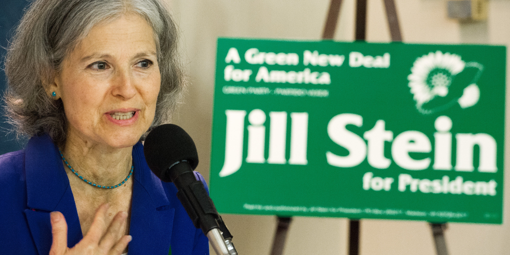 US Green Party leader Jill Stein