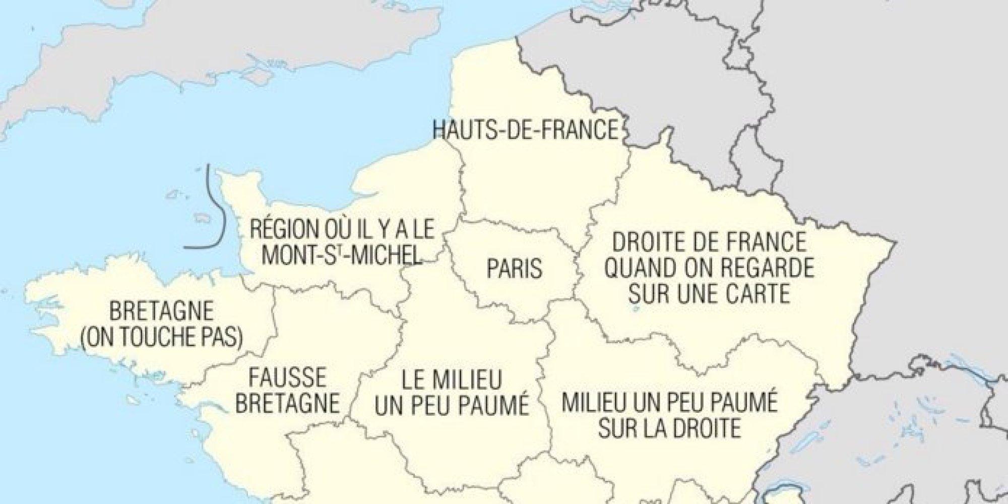 L 39 arriv e de la r gion hauts de france sur la carte hexagonale vaut le d - Region la plus sure de france ...