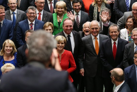 philip ruddock photobomb house of representatives