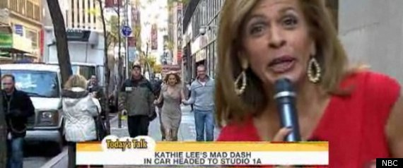 Kathie Lee's Mad Dash To 'Today': Hoda Kotb Greets Gifford With Wine ...