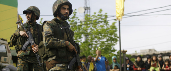 HEZBOLLAH FORCES IN SYRIA