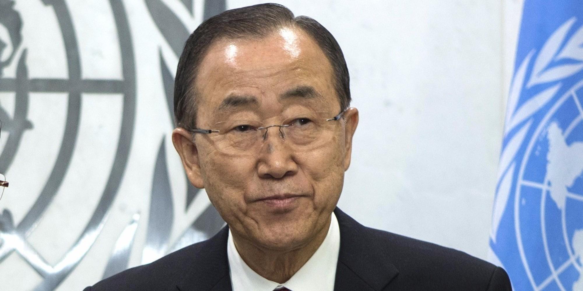 Voici l'ambition de Ban Ki Moon s'il quitte son poste à l'ONU