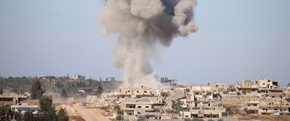AIR STRIKES IN SYRIA