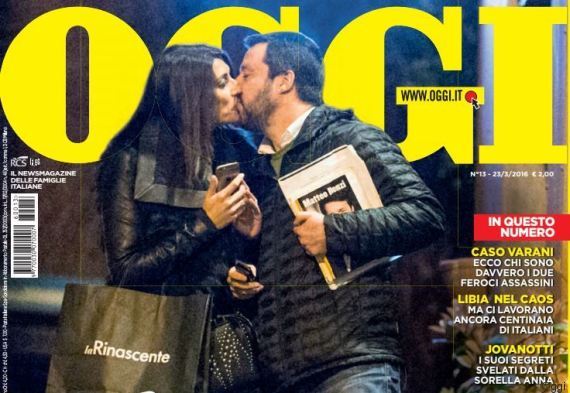 Matteo Salvini e Elisa Isoardi: amore da copertina!