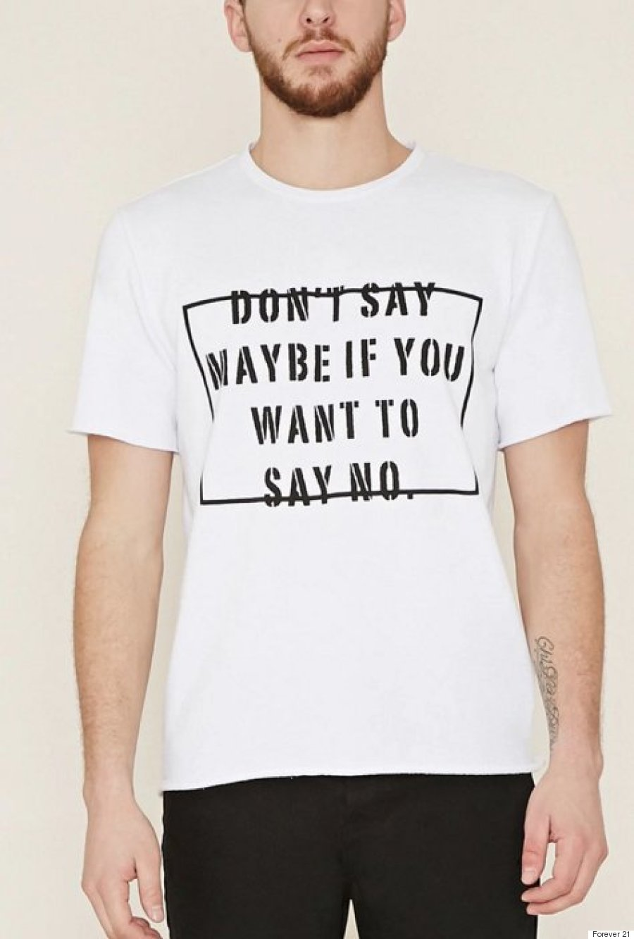 forever 21 offensive tshirt