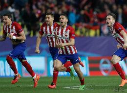 El Atlético de Madrid pasa a cuartos tras unos penaltis de infarto