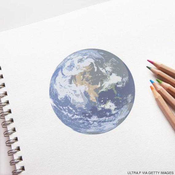 dibujo tierra
