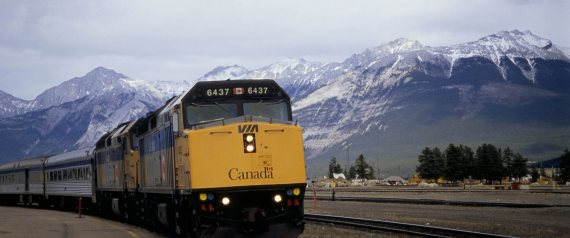 VIA RAIL ROCKIES