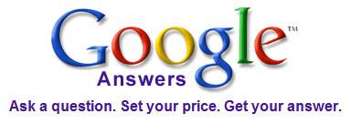 google answers