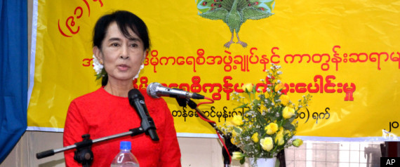 Myanmars Aung San Suu Kyi To Run In Parliamentary