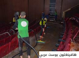 بغداد تنفض غبار الحرب.. متطوّعون عراقيون يعيدون افتتاح المراكز الثقافية