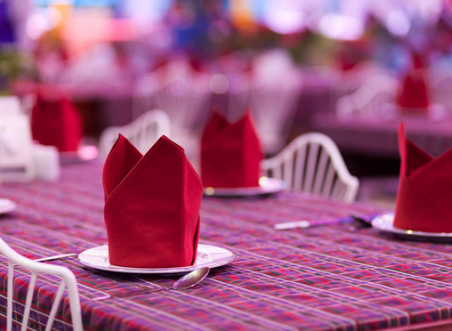 Napkin Folding Bishop S Hat Photos Huffpost