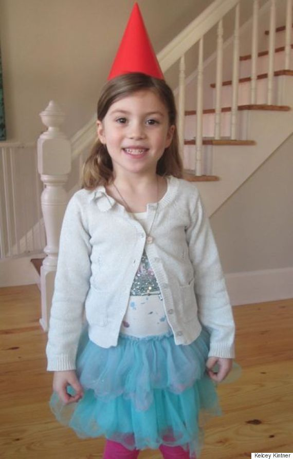 kelceys daughter dressed up