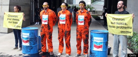 Brazil Chevron Oil Spill