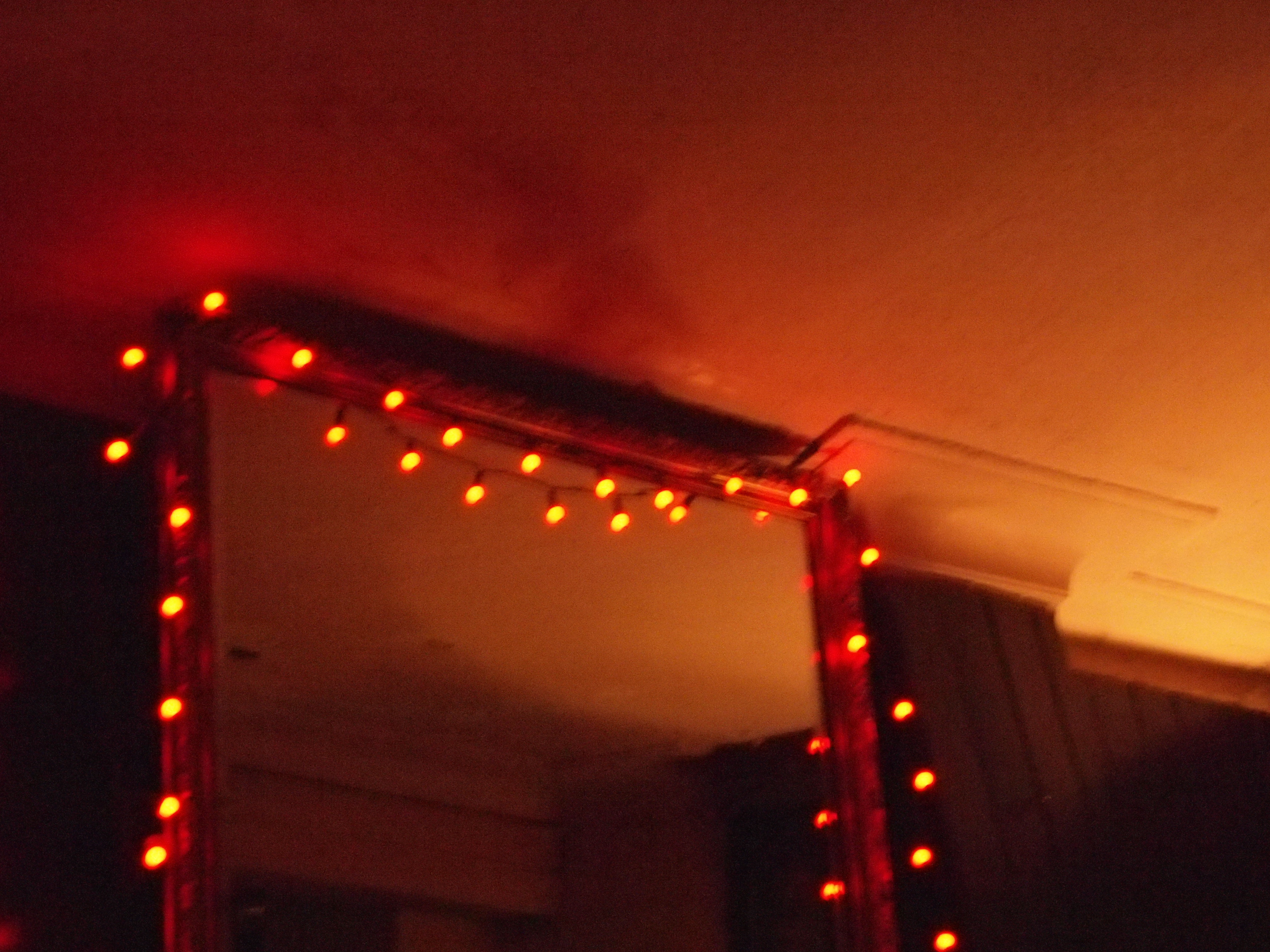 lights mirror