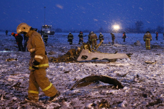flydubai russia plane crash