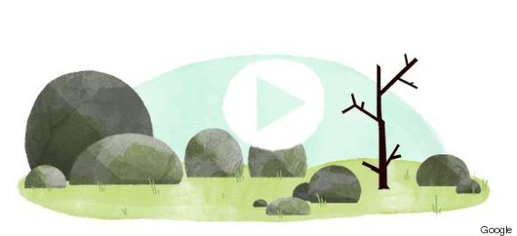 un doodle google pour l 39 quinoxe de printemps. Black Bedroom Furniture Sets. Home Design Ideas