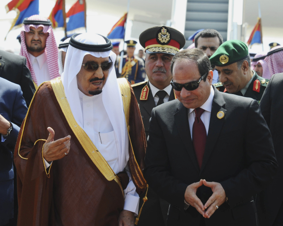 egyptian president king salman