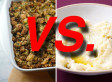 Best Thanksgiving Side Dish Bracket Challenge Championship Round: STUFFING Vs MASHED POTATOES