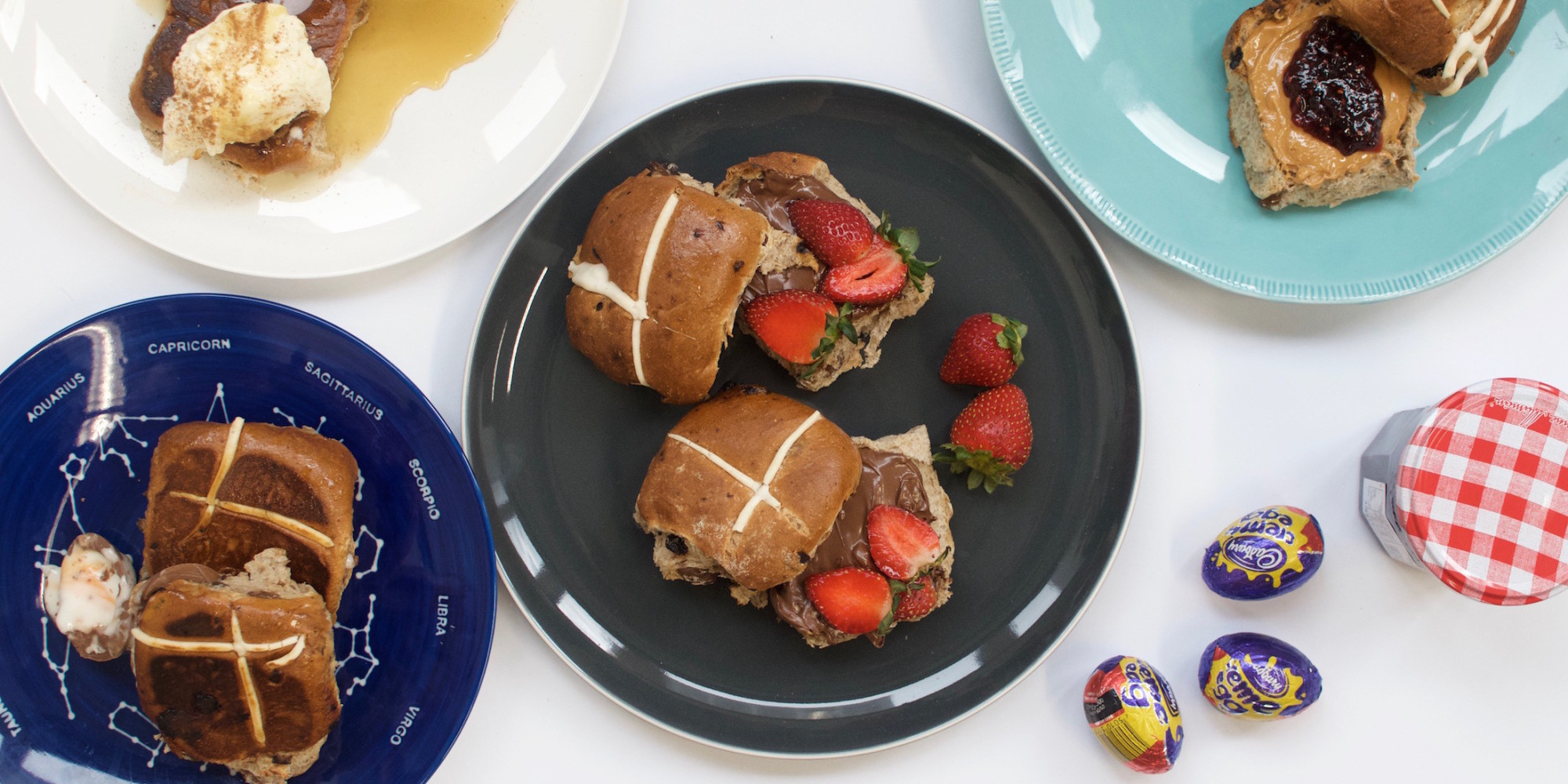Ways To Pimp Your Hot Cross Buns This Easter