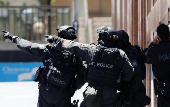 sydney siege police