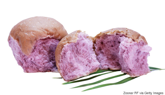 bread made from taro