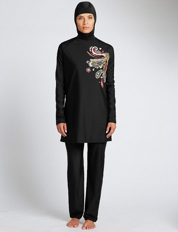 the burkini on the marks and spencer website