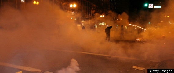 OAKLAND TEAR GAS