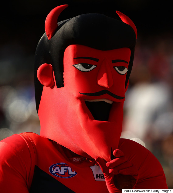 melbourne demons mascot