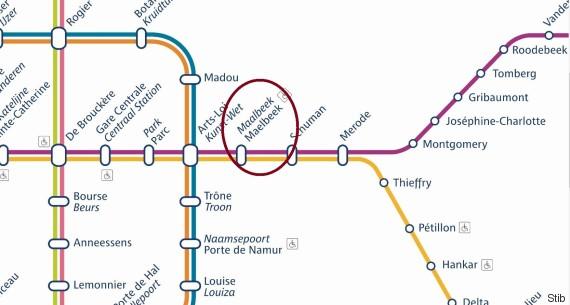metro maelbeek