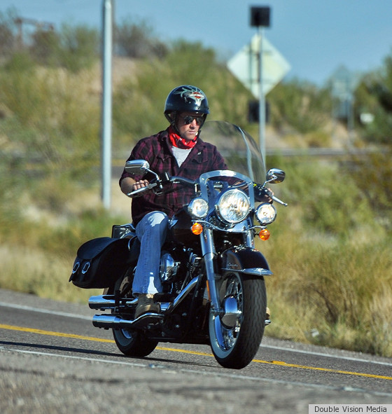 Prince Harry: Motorcycle Time In Las Vegas! (PHOTO)