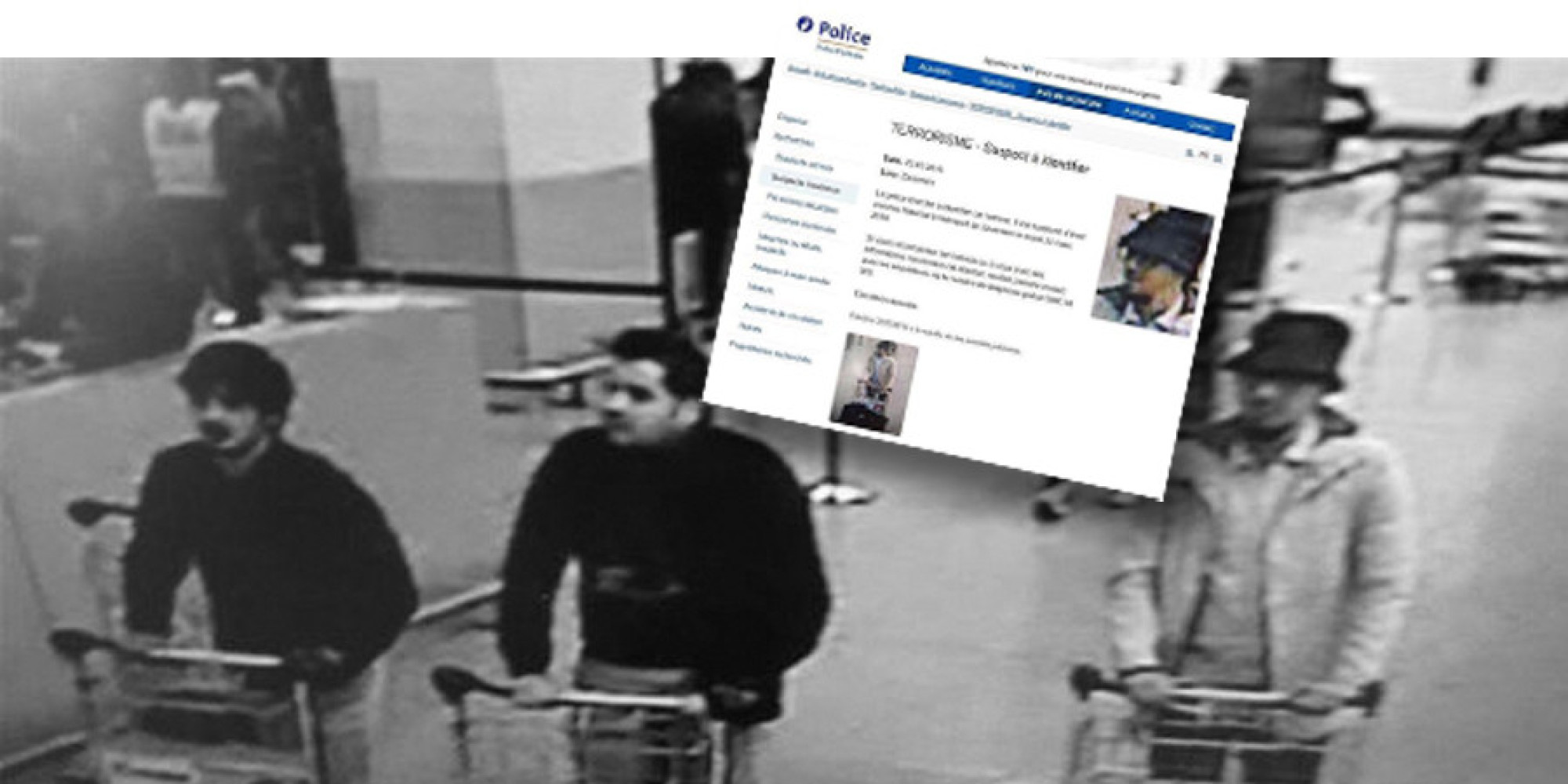 Attentat Facebook: Attentat à L'aéroport De Bruxelles : Un Suspect
