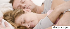 OLDER COUPLE SLEEPING