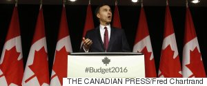 BILL MORNEAU FEDERAL BUDGET