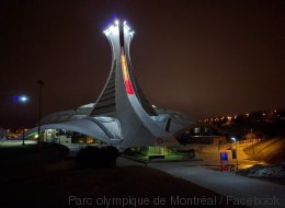 La photo du jour : le Stade olympique s'illumine pour Bruxelles