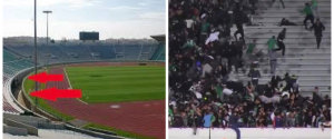STADE MOHAMMED VI VIOLENCES RAJA
