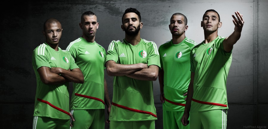 Adidas d voile le nouveau maillot de l 39 quipe nationale de for Bank exterieur d algerie