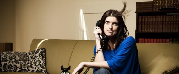 WOMAN ANNOYED PHONE