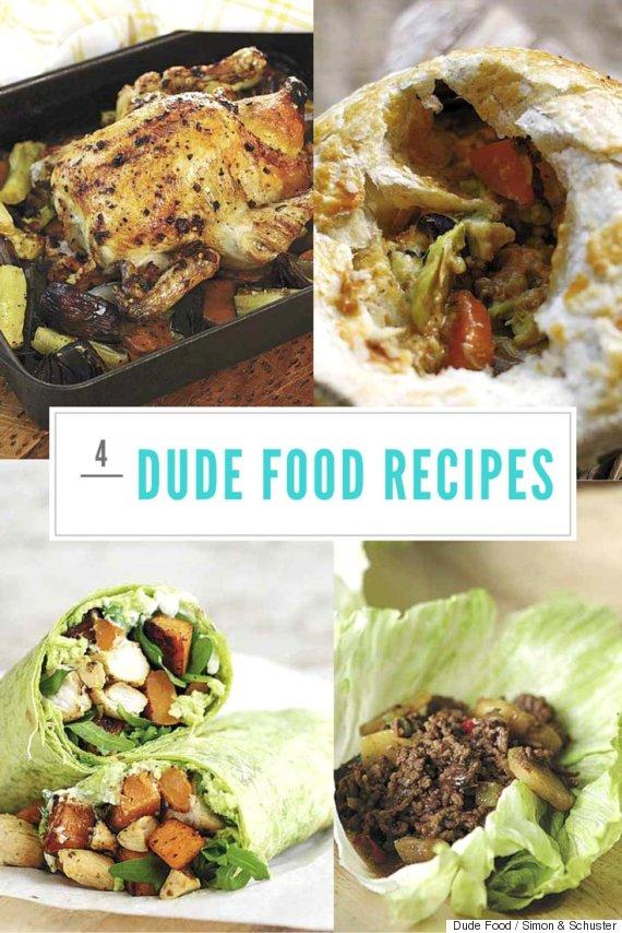 dude food recipes