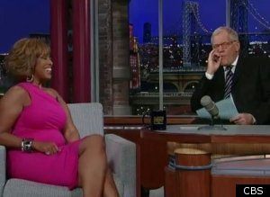 David Letterman Gayle King