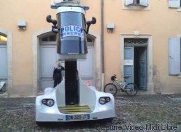 La police de Béziers teste un véhicule du futur