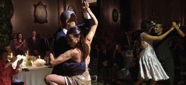 El tango de los Obama es lo mejor que verás hoy
