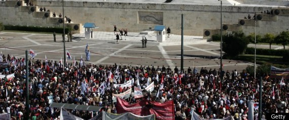 Greek General Strike December 1