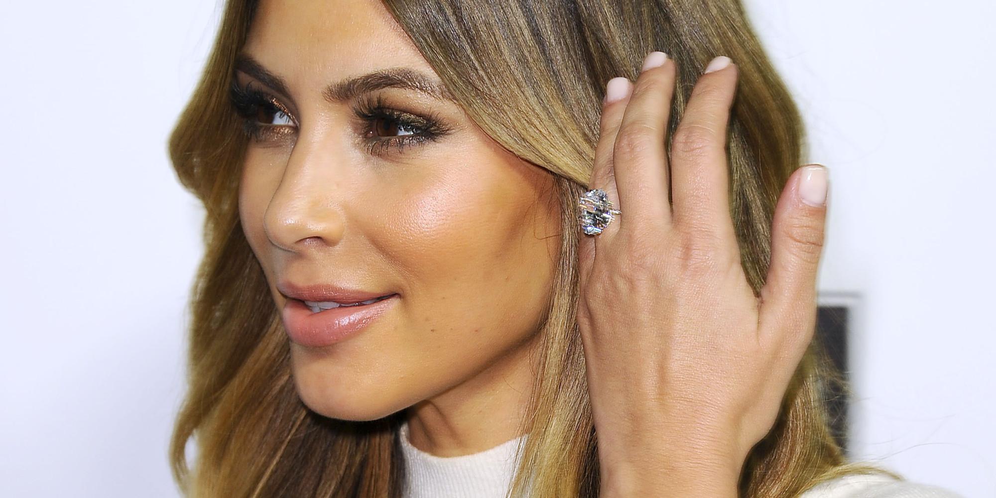 Kim Kardashian Wedding Ring Price 27 Fancy Celebrity engagement rings prices