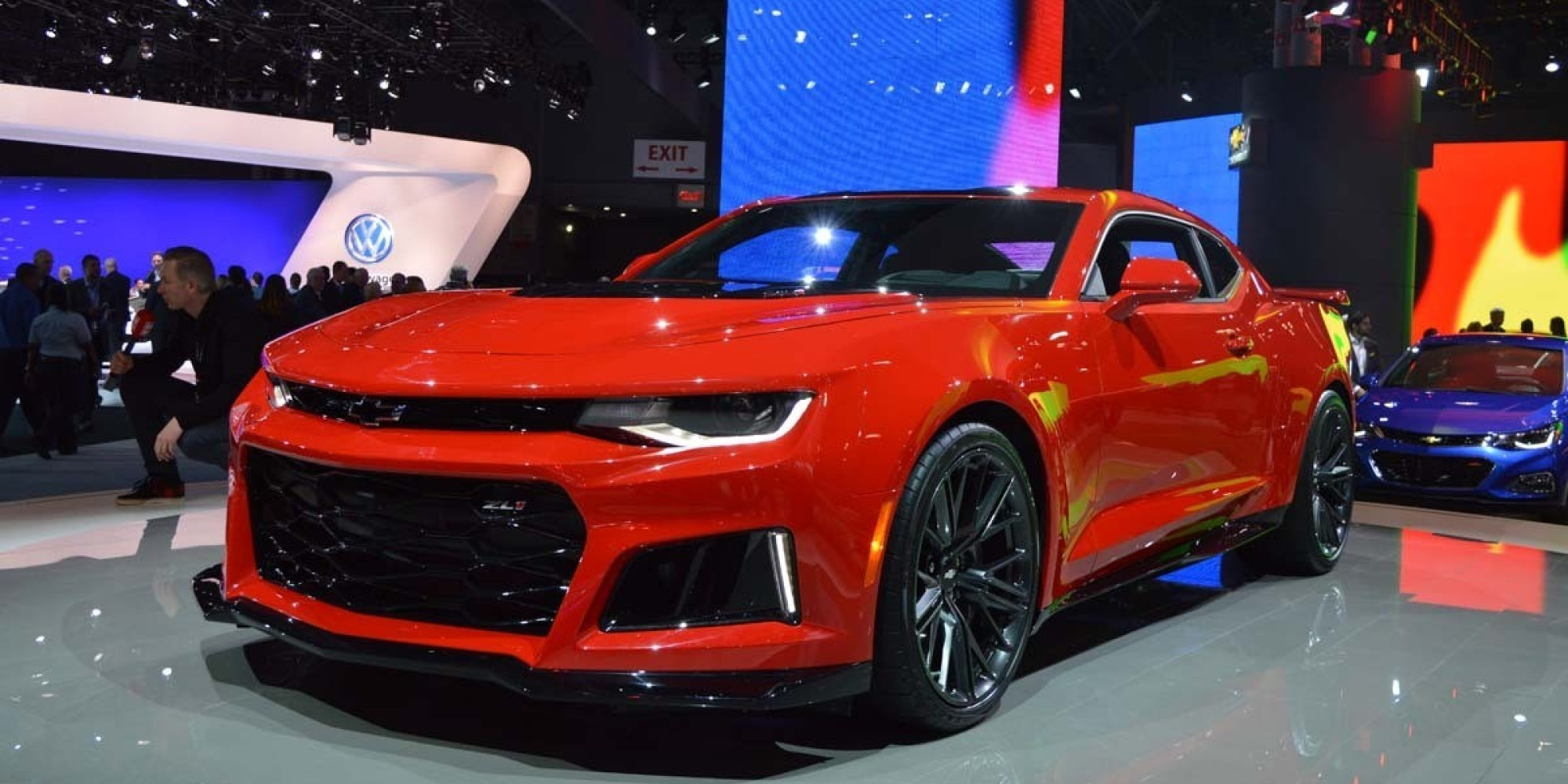 chevrolet camaro zl1 2017 la sportive de new york photos. Black Bedroom Furniture Sets. Home Design Ideas